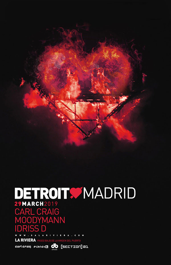 Carl Craig Detroit Love Madrid La Riviera