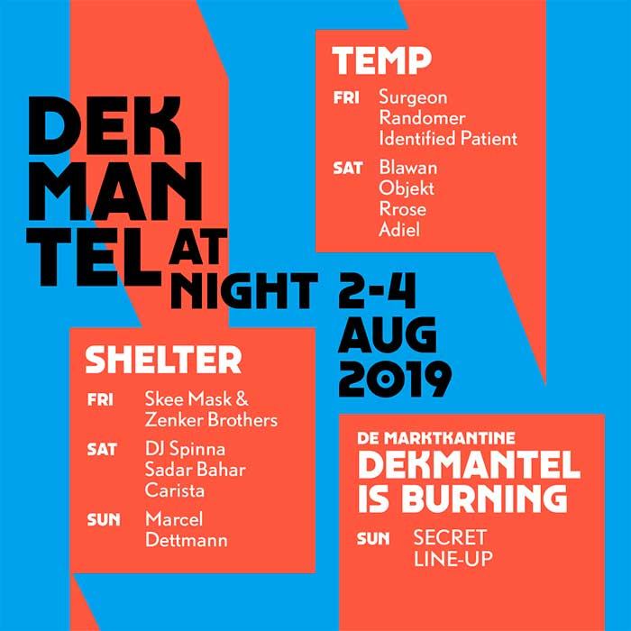 Dekmantel 2019 by night